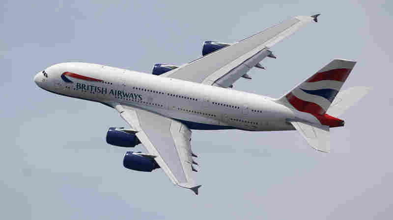 A British Airways pilot told authorities that he believes his jet struck a drone as it approached for landing at Heathrow Airport on Sunday. The police are investigating.