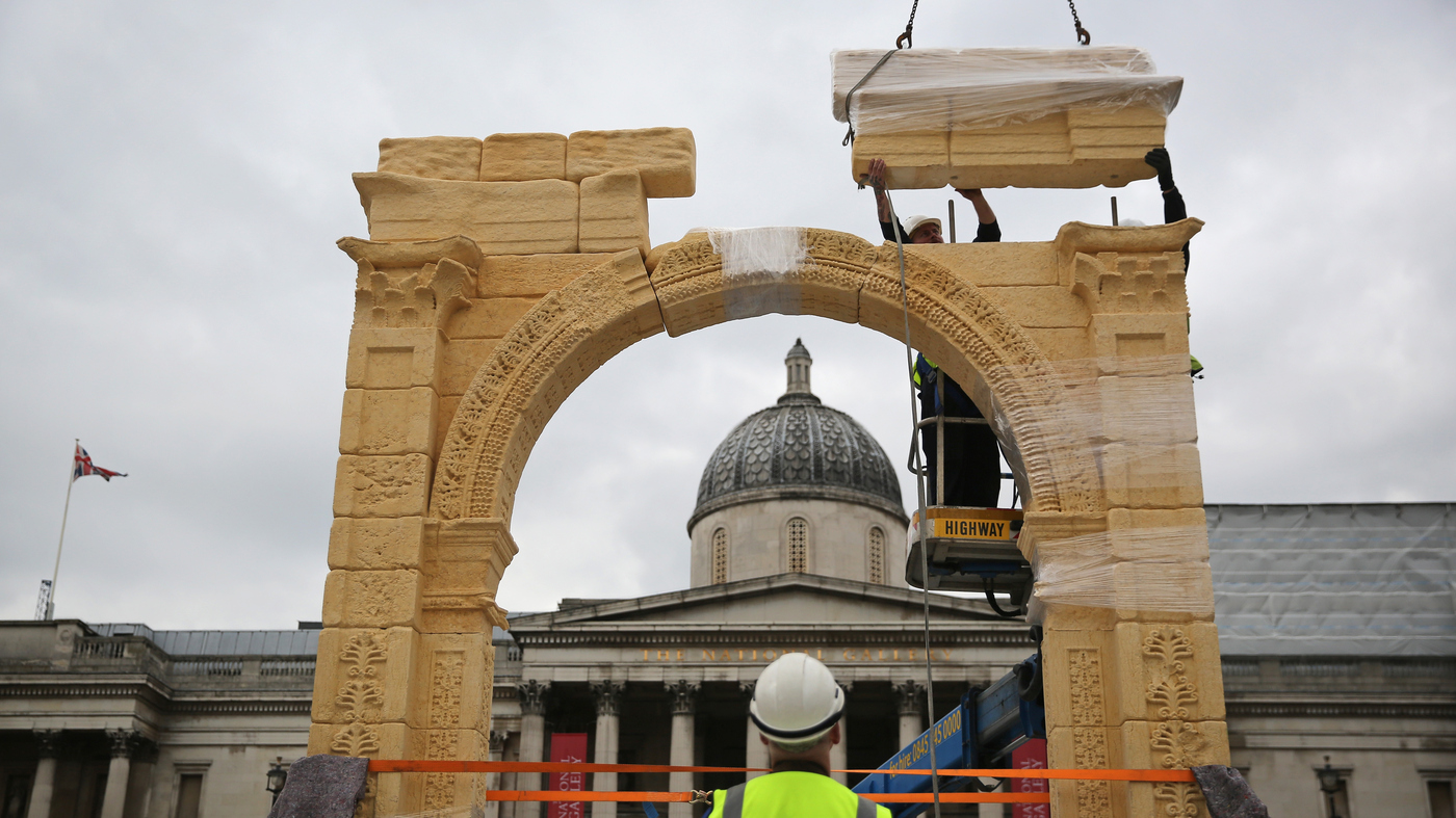 Palmyra's Ancient Arch, Destroyed By ISIS, To Rise Again In London