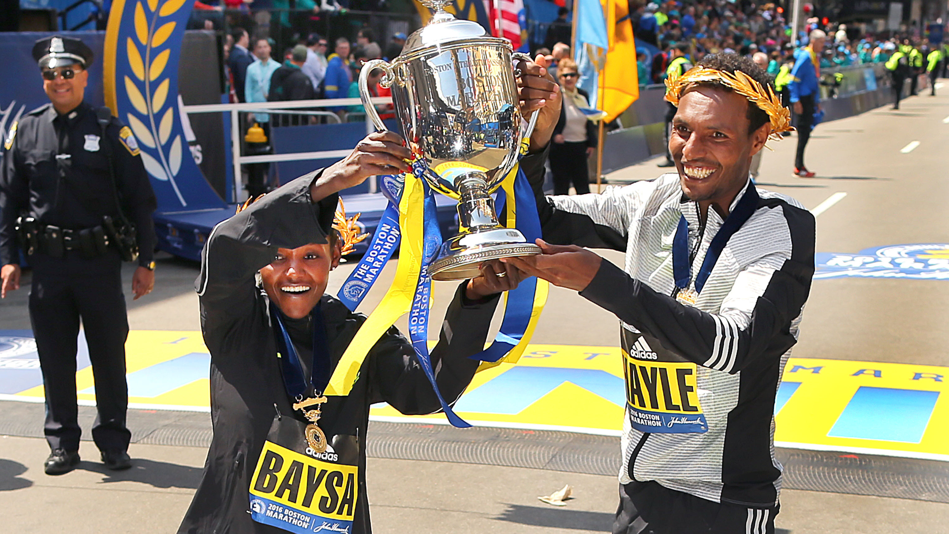 Boston Marathon Results: Ethiopian Runners Shut Kenyans Out Of Top ...