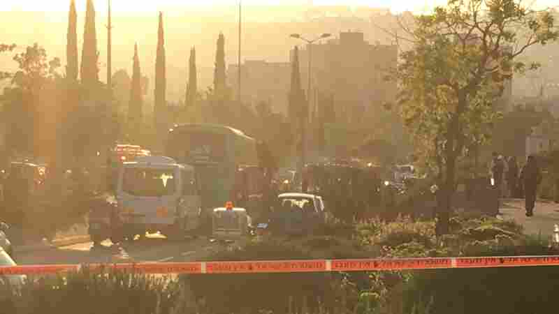 Bus Explosion, Fire In Jerusalem Injures At Least 16