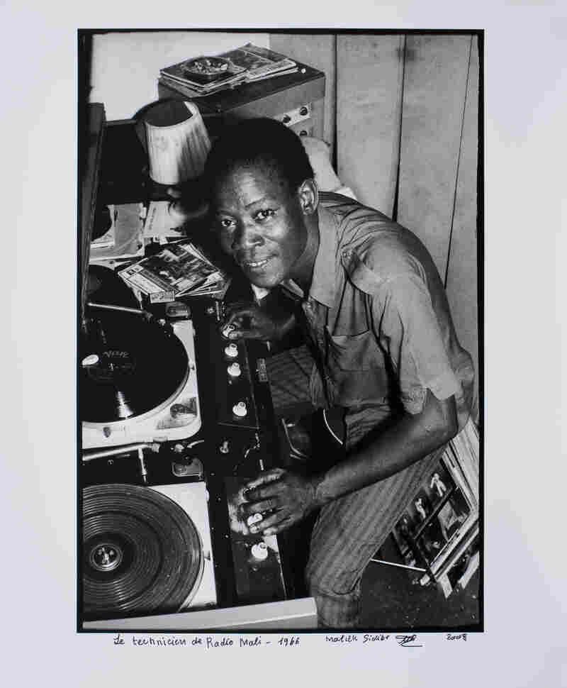 Le technicien de Radio Mali, 1966