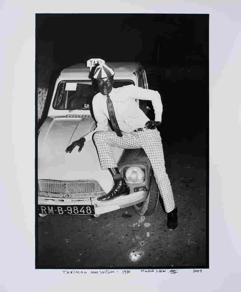 Taximan avec Voiture, 1970