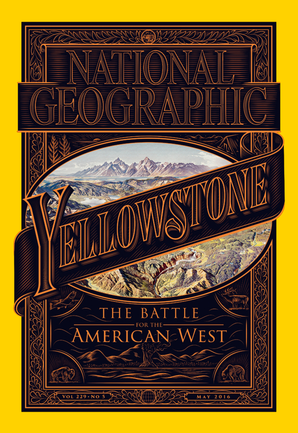 Journalist David Quammen writes about the history of Yellowstone National Park and the conflicts in the greater Yellowstone ecosystem in the May issue of National Geographic magazine.