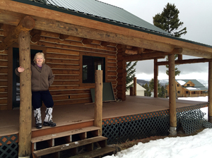"Theresa Mondale, a broker with United Country Real Estate in western Montana, says her sales of off-grid, ""survivalist"" properties have risen by 50 percent over the last several years."