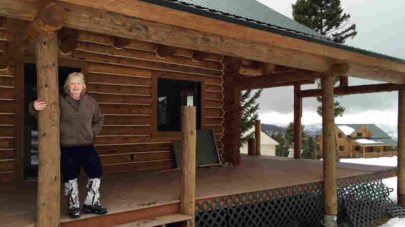 """Theresa Mondale, a broker with United Country Real Estate in western Montana, says her sales of off-grid, """"survivalist"""" properties have risen by 50 percent over the past several years."""