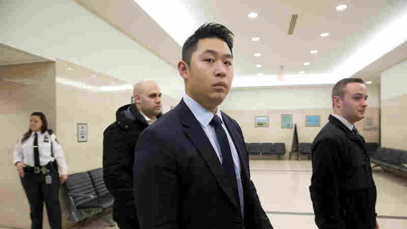 Peter Liang pictured on Feb. 9, during his trial. He was convicted of manslaughter in the shooting death of unarmed Akai Gurley in 2014.