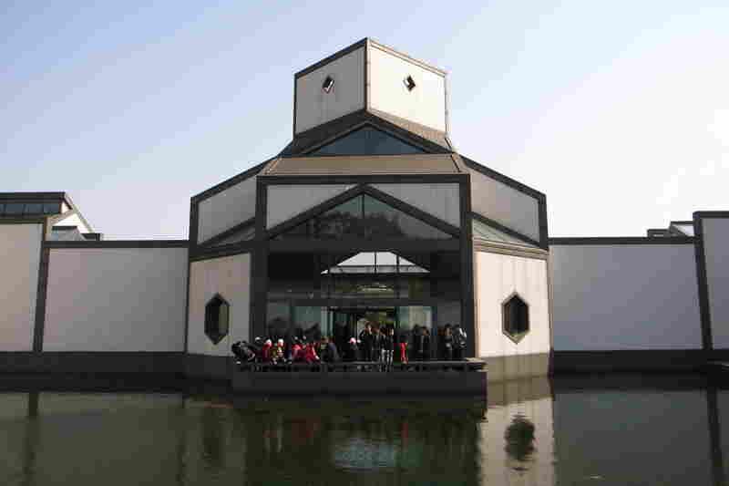 """Pei described his work on The Suzhou Museum in Suzhou, Jiangsu, China, as a """"return to home."""""""