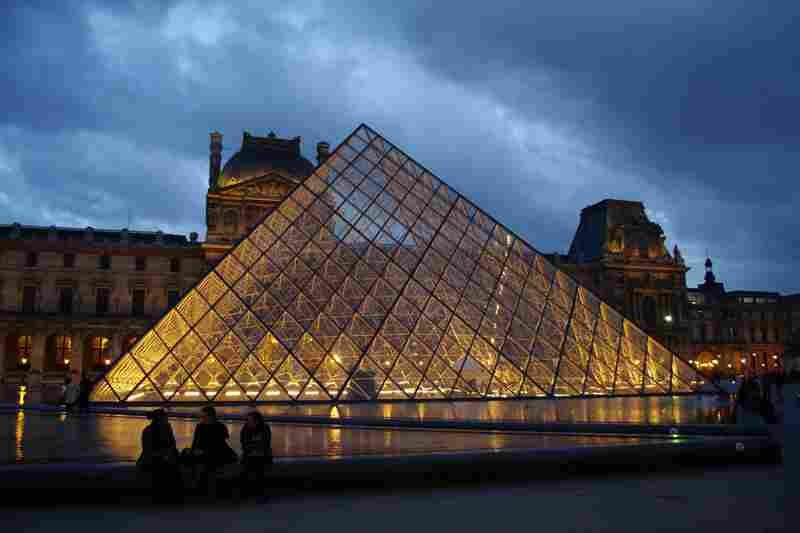 The Louvre Pyramid in Paris opened in 1989.