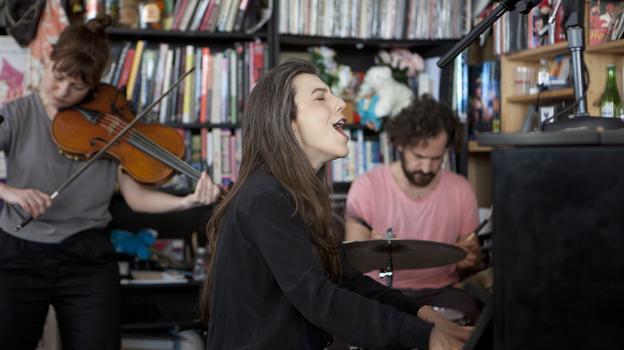 Tiny Desk Concert with Julia Holter. (NPR)