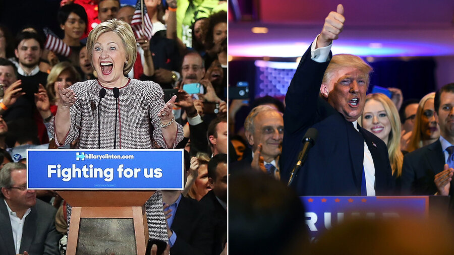 After New York Primary Wins Donald Trump And Hillary Clinton Look Forward To Knockout Round Npr