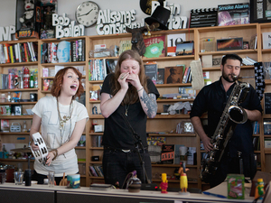 Tiny Desk Concert with Sister Sparrow & The Dirty Birds.