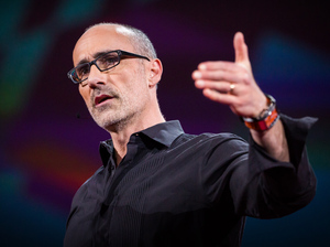 Arthur Brooks speaking at TED2016.