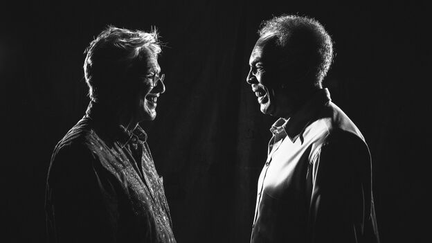Caetano Veloso and Gilberto Gil. (Courtesy of the artist)