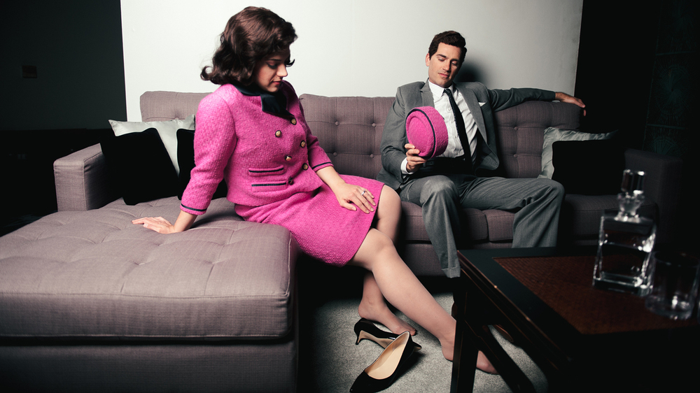 Daniela Mack and Matthew Worth star as First Lady and President Kennedy in a new show at the Fort Worth Opera, JFK.