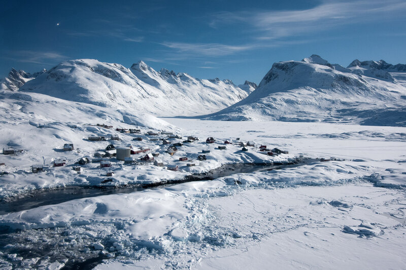 greenland is a high income country that struggles with developing