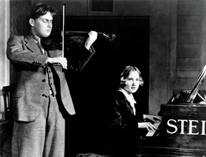 Menuhin's sister Hephzibah, also child prodigy, became the violinist's frequent musical partner on stage and in the recording studio.