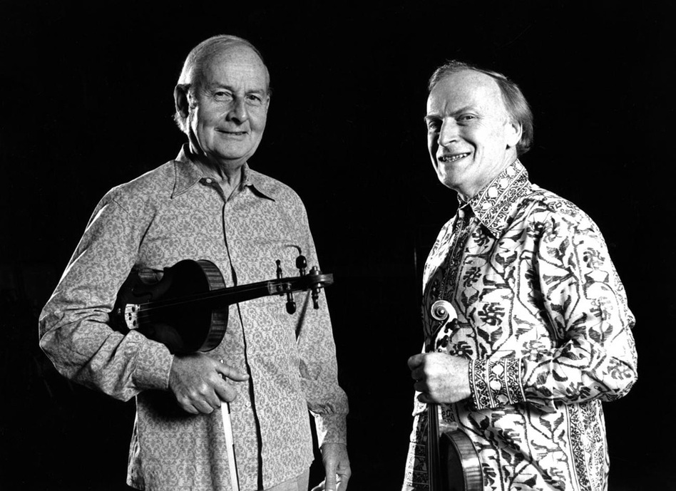 Menuhin also dabbled with jazz, making a number of recordings with jazz violinist Stéphane Grappelli from 1975 to 1981.  (Warner Classics)