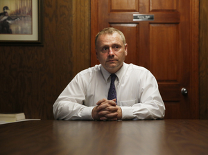Wolfe County's superintendent, Kenny Bell, says he's constantly having to make tough budget decisions.