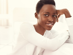 "Lupita Nyong'o says it was ""a very discombobulating thing,"" to go from obscurity to the Academy Awards."