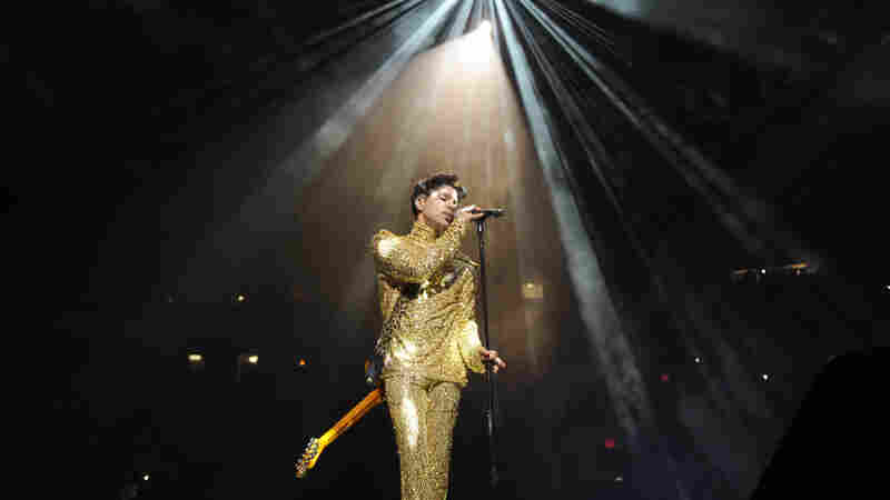 Prince playing Madison Square Garden in February of 2011.