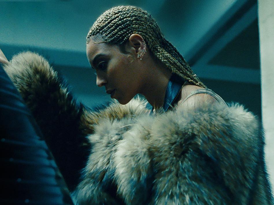 Beyoncé's new visual album, <em>Lemonade</em>, is out now. (TIDAL)