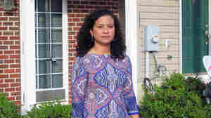 Airbnb host Synta Keeling rents two bedrooms in her house in Washington, D.C.'s predominantly black Anacostia neighborhood.