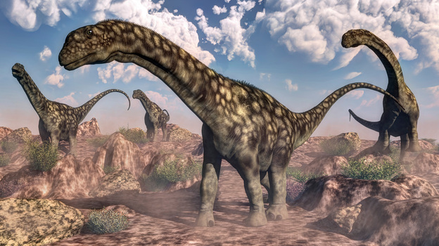 Sauropods were one of the most successful groups of dinosaurs to ever walk the Earth. New research helps explain why. (Stocktrek Images/Getty Images)