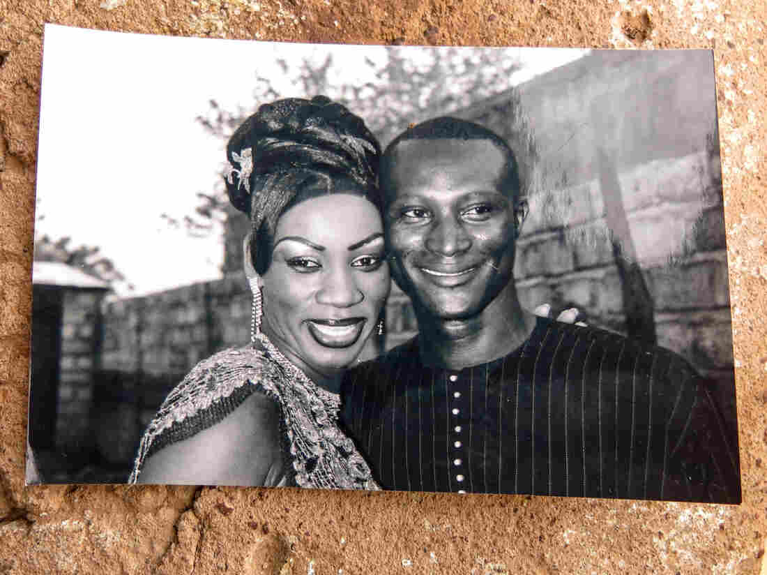 Aissatou Sanogo and her late husband, Souleymane Diaby.