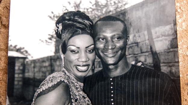 Aissatou Sanogo and her late husband, Souleymane Diaby. (NPR)