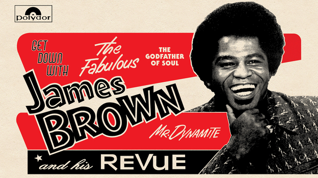 The latest release of James Brown's music, Get Down with James Brown: Live at the Apollo Vol 4, was recorded in 1972 — and finally released this year. (Courtesy of the artist)