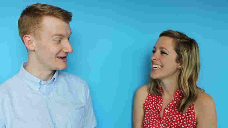 Max Nesterak and Maggie Penman of NPR's Hidden Brain podcast.