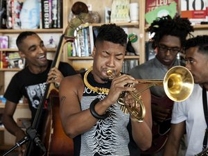 Tiny Desk Concert with Christian Scott aTunde Adjuah.