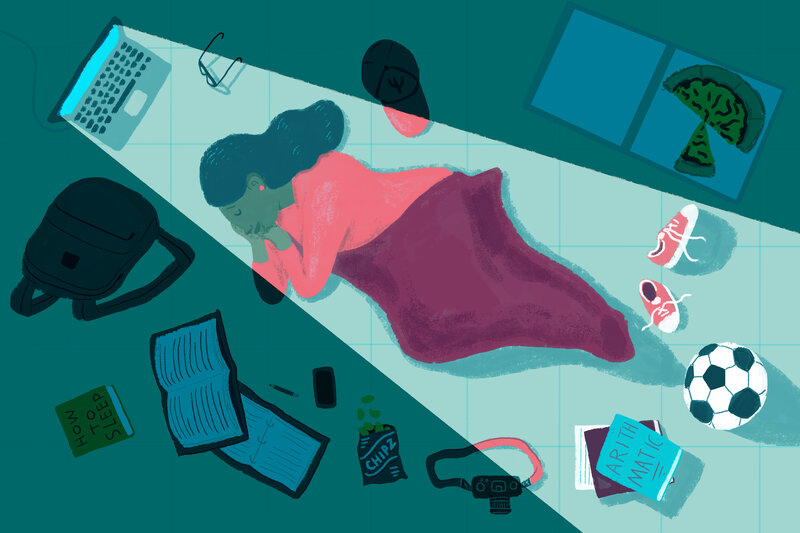 How College Students Are Sleeping Or Not >> How College Students Are Sleeping Or Not Npr Ed Npr