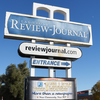 The Las Vegas columnist left after being banned from writing about Adelson