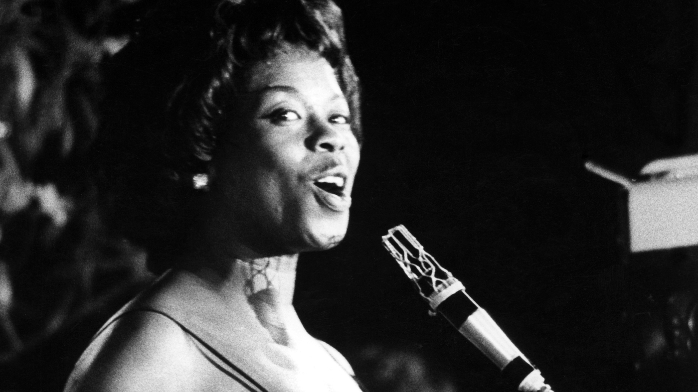Songs We Love Sarah Vaughan Fascinating Rhythm Npr