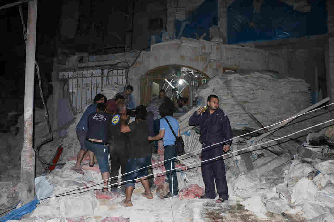 The al-Quds Hospital in Aleppo is one of seven health facilities that have been bombed in Syria in 2016.