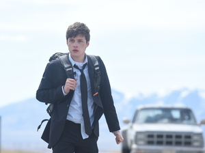Nick Robinson as the troubled teen lead in Being Charlie.