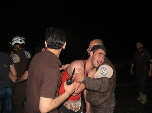 A Wednesday night airstrike at a hospital in Aleppo, Syria, killed more than a dozen people.