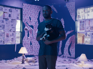 "A still from Kaytranada's ""Glowed Up."""