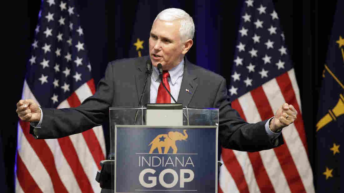 Indiana Gov. Mike Pence Endorses Ted Cruz, Praises Donald Trump