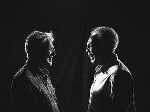 Caetano Veloso and Gilberto Gil.