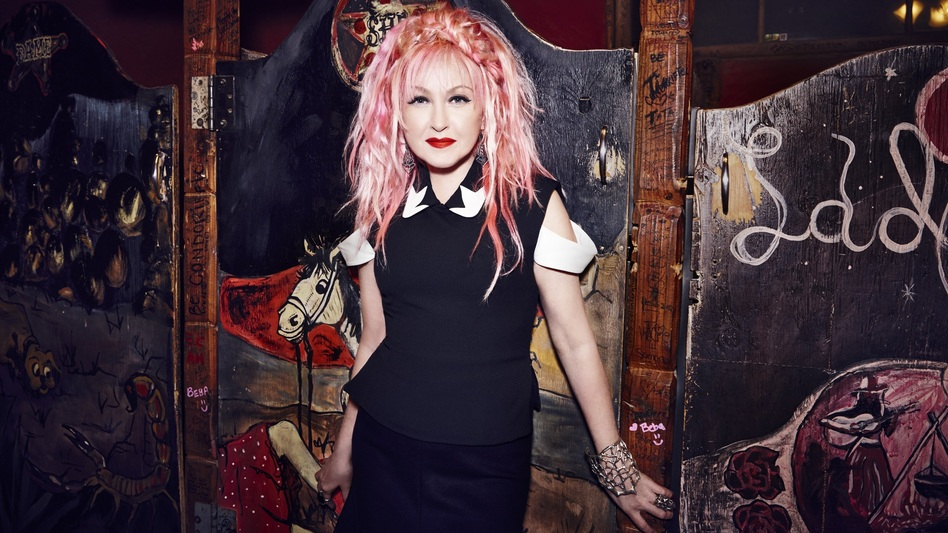 Cyndi Lauper's new album is called Detour. (Courtesy of the artist)