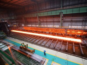 A steel mill in Tangshan, in China's Hebei province. U.S. Steel claims that the Chinese government dumps steel at unfair prices and uses computer hackers to steal intellectual property.