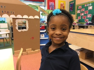 Kennedy Park, 4, is in her second year of pre-K in Camden. All 3- and 4-year-old kids qualify for two years of preschool in New Jersey's lowest-income cities.