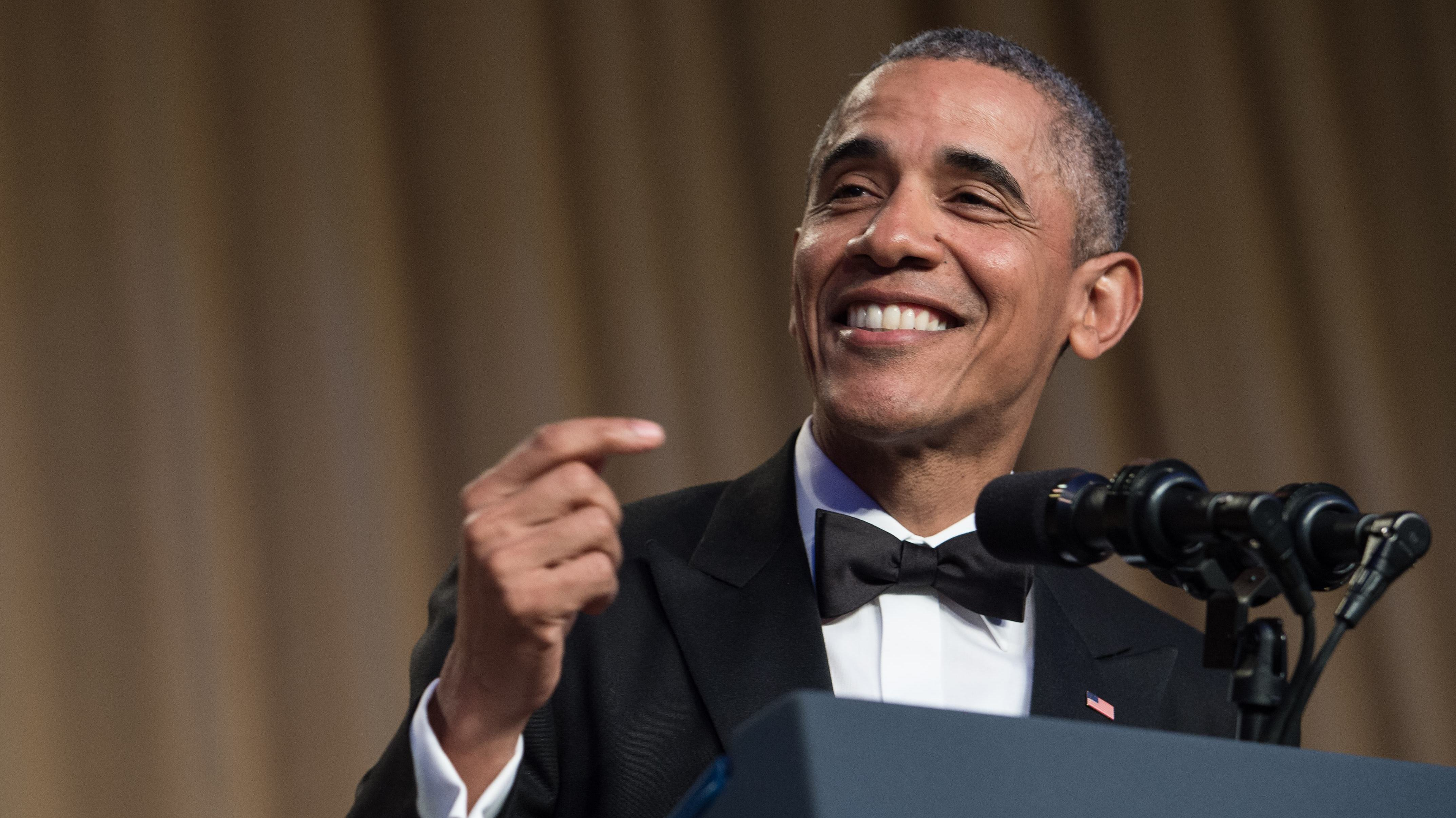 President Obama Has His Last Laughs At 2016 WHCD
