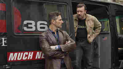 Eric Bana and Ricky Gervais play an unethical radio journalist and his engineer in Special Correspondents.