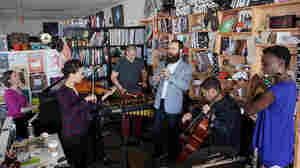 Tiny Desk Concert with eighth blackbird.
