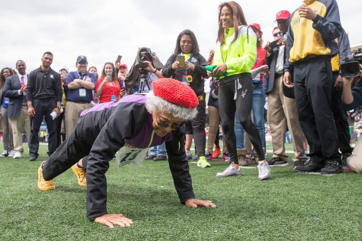 Meters, 100 Years Old: Ida Keeling Breaks Racing Record
