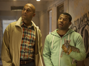 Keegan-Michael Key and Jordan Peele in Keanu.