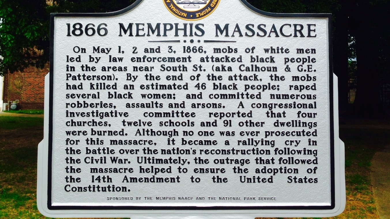 Do The Words Race Riot Belong On A Historic Marker In Memphis